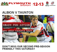 Plymouth Albion Newsletter