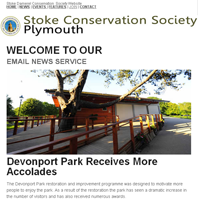 Stoke Conversation Society Plymouth Newsletter