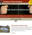 Dartmoor Prison Museum Visitor attraction gets responsive website design