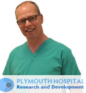 Plymouth Hospital Research and Development - mobile responsive website design